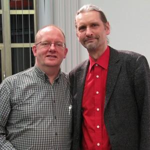 Foto: RepaNet Stefan Schridde (li.) mit RepaNet-Geschäftsführer M. Neitsch